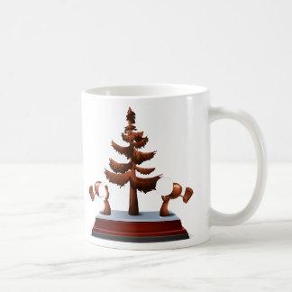 Interferencia: madera del creador de la calle de taza de café