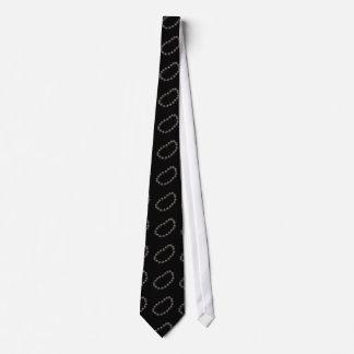 Interferencia: ónix del collar del artefacto corbatas personalizadas