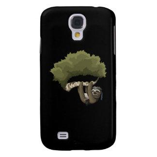 Interferencia: Retrato de la pereza del metal Funda Para Galaxy S4