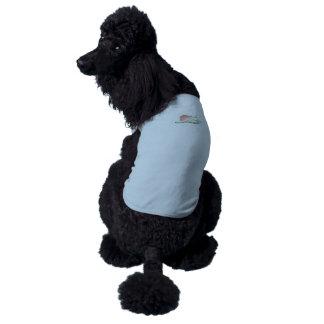 Interferencia: trampa de la concha de la búsqueda playera sin mangas para perro