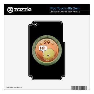 Interferencia: windbag competente del logro iPod touch 4G skin