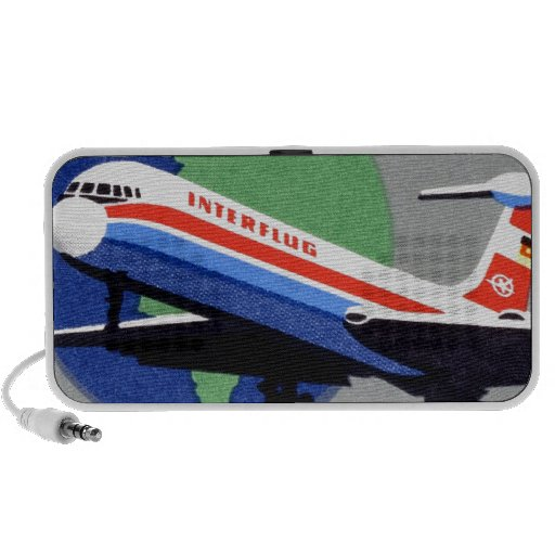 INTERFLUG - Línea aérea nacional de RDA, la Aleman iPhone Altavoz