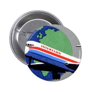 INTERFLUG - Línea aérea nacional de RDA, la Aleman Pin