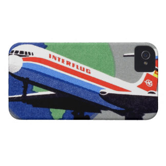 INTERFLUG - National Airline of DDR East Germany iPhone 4 Cover