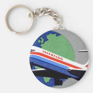 INTERFLUG - National Airline of DDR, East Germany Key Chain