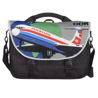 INTERFLUG - National Airline of DDR, East Germany Bag For Laptop