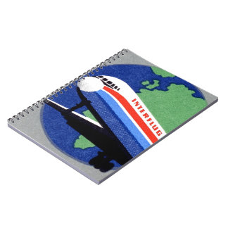INTERFLUG - National Airline of DDR, East Germany Notebooks
