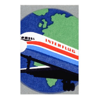 INTERFLUG - National Airline of DDR, East Germany Stationery