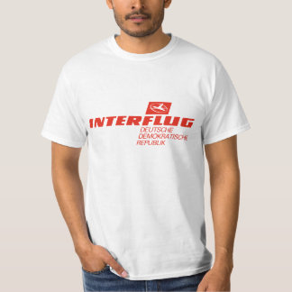 Interflug, National Airline of East Germany! T Shirts