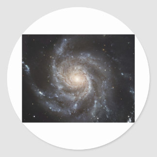 Intergalactic Classic Round Sticker