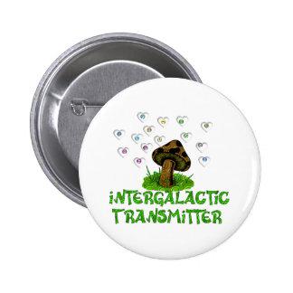 Intergalactic Transmitter Pinback Buttons