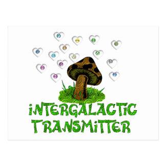 Intergalactic Transmitter Postcard