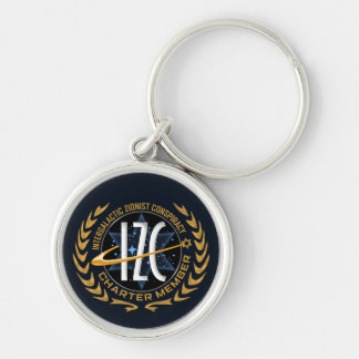 Intergalactic Zionist Conspiracy Keychain