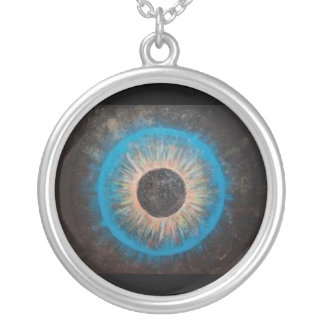 Intergallactic Eye Personalized Necklace