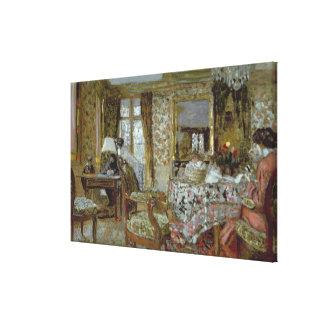 Interior, 1904 canvas print