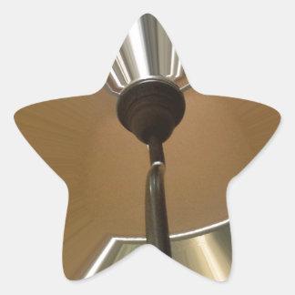 Interior 1 pegatina en forma de estrella