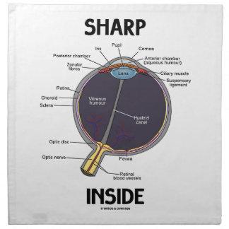Interior agudo del ojo (i) (globo del ojo servilleta