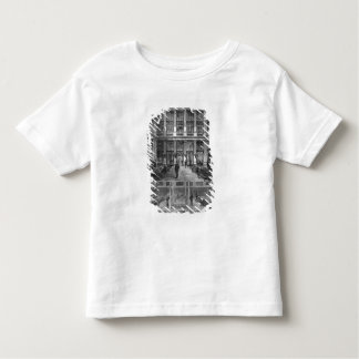 Interior and cross-section toddler t-shirt