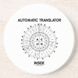 Interior automático del traductor (rueda del codón posavasos cerveza