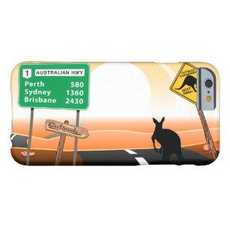 Interior canguro funda barely there iPhone 6