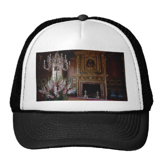 Interior, Chateau Chambord, Loire Valley, France Trucker Hat