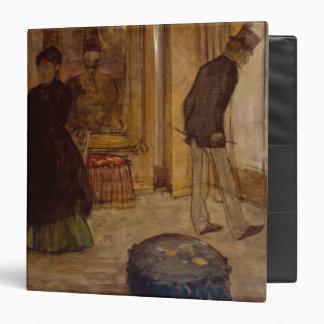 """Interior con dos figuras, 1869 carpeta 1 1/2"""""""