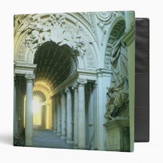 """Interior con la vista de la escalera carpeta 1 1/2"""""""