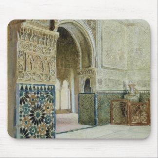 Interior de Alhambra, Granada (w/c) Mousepads