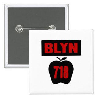 Interior de Apple grande con la bandera, de BLYN 7 Pin Cuadrado