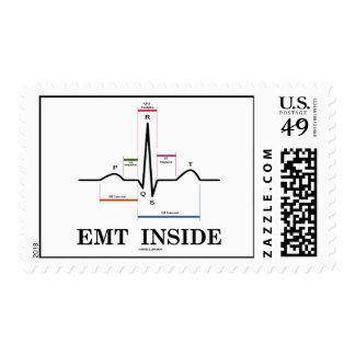 Interior de EMT (electrocardiograma de ECG/de EKG) Timbres Postales