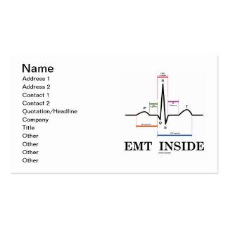 Interior de EMT (electrocardiograma de ECG/EKG) Tarjeta De Visita