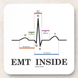 Interior de EMT (electrocardiograma del ritmo del Posavasos De Bebidas