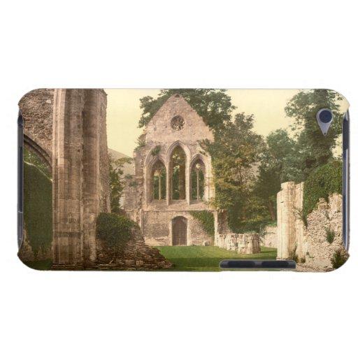 Interior de la abadía de Valle Crucis, Llangollen, Case-Mate iPod Touch Cárcasas
