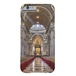 Interior de la basílica de San Pedro Funda Para iPhone 6 Barely There