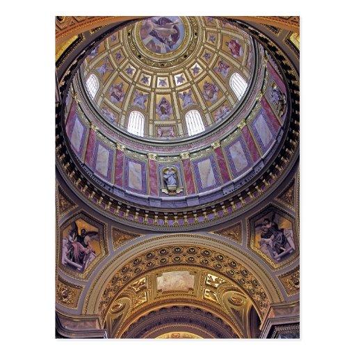 Interior de la basílica de St Stephen, Budapest (4 Postal