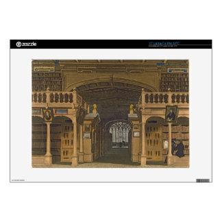 Interior de la biblioteca de Bodleian, ejemplo par Calcomanías Para 38,1cm Portátiles