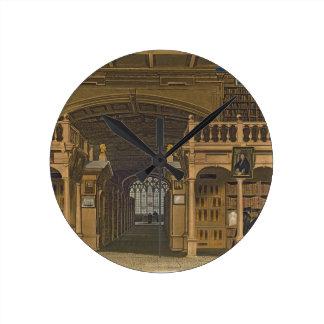 Interior de la biblioteca de Bodleian ejemplo par Relojes