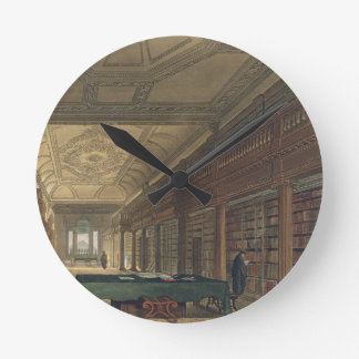 Interior de la biblioteca de la iglesia de Cristo Relojes De Pared