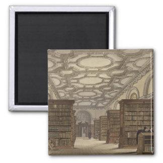 Interior de la biblioteca pública, Cambridge, de ' Iman Para Frigorífico