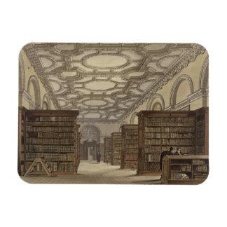 Interior de la biblioteca pública, Cambridge, de ' Imanes Flexibles