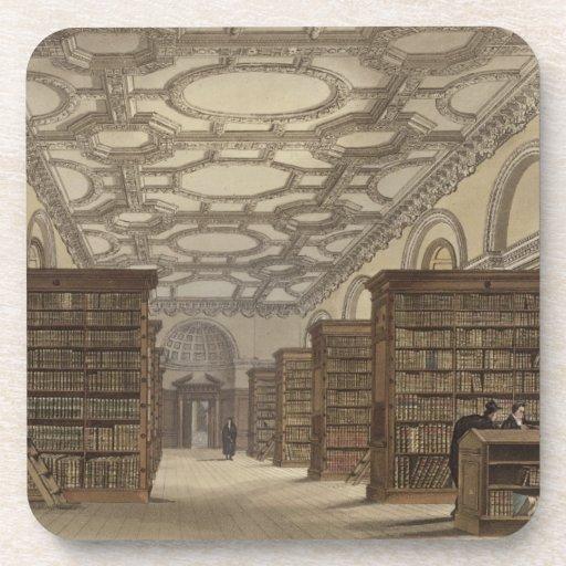 Interior de la biblioteca pública, Cambridge, de ' Posavaso