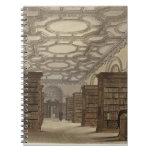 Interior de la biblioteca pública, Cambridge, de ' Spiral Notebook