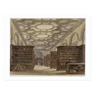 Interior de la biblioteca pública, Cambridge, de Tarjetas Postales