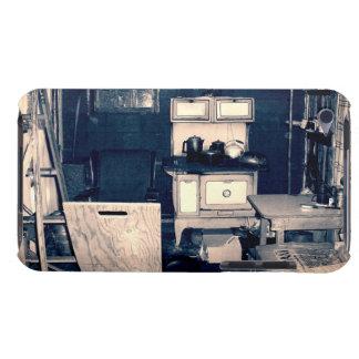 Interior de la cabina del vintage iPod Case-Mate fundas