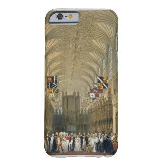 Interior de la capilla de San Jorge, 1838 (litho Funda De iPhone 6 Barely There