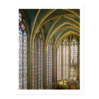 Interior de la capilla superior que parece del est tarjeta postal