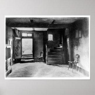 Interior de la casa de Johann Sebastian Bach Impresiones