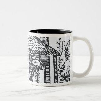 Interior de la casa de una bruja, 1579 tazas de café