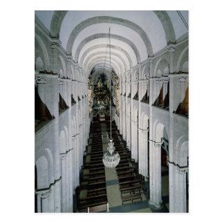 Interior de la catedral comenzada en 1078 postales