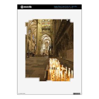 Interior de la catedral de San Pedro en Regensburg Pegatinas Skins Para iPad 3